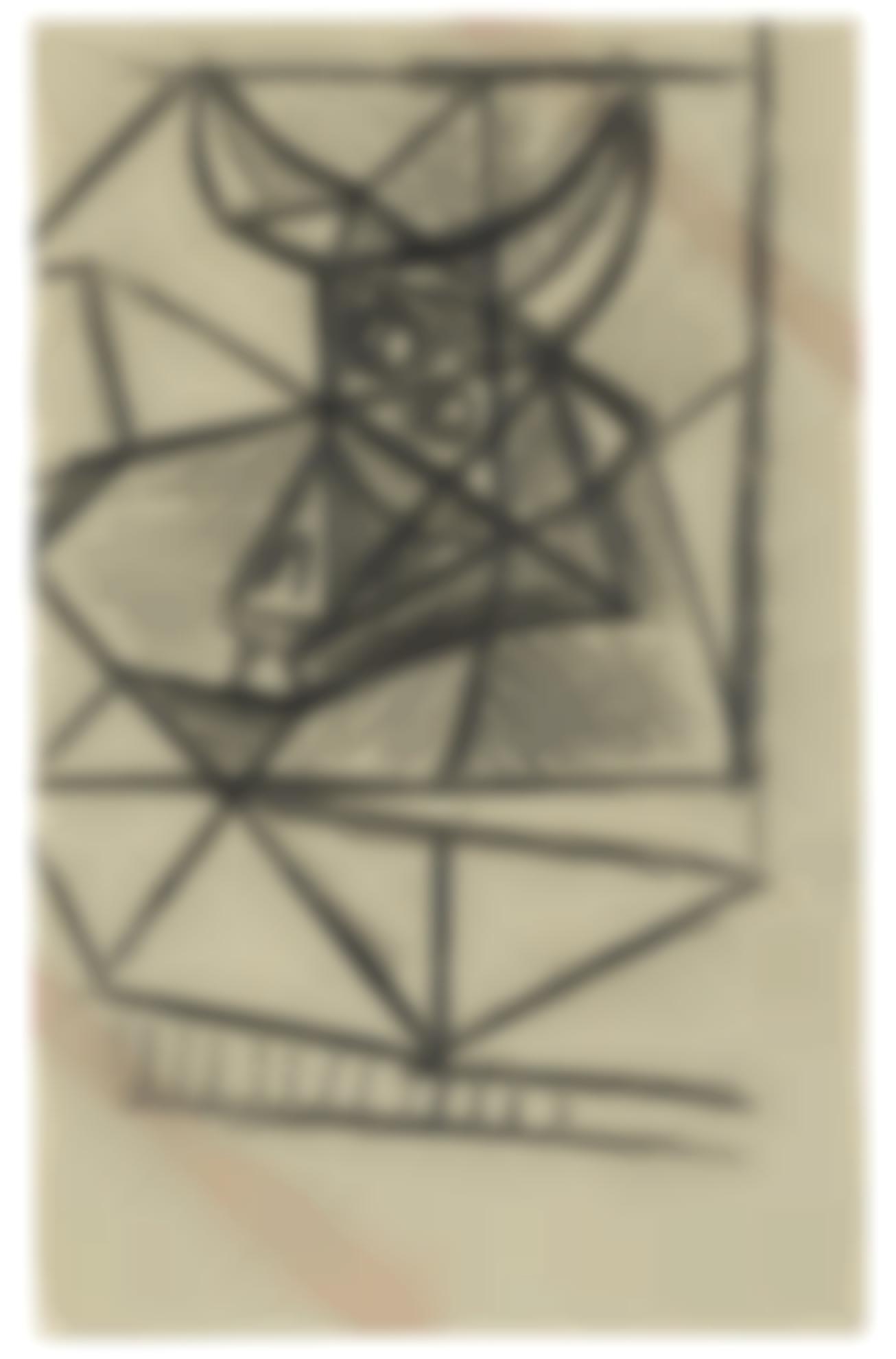 Pablo Picasso-Taureau-1942