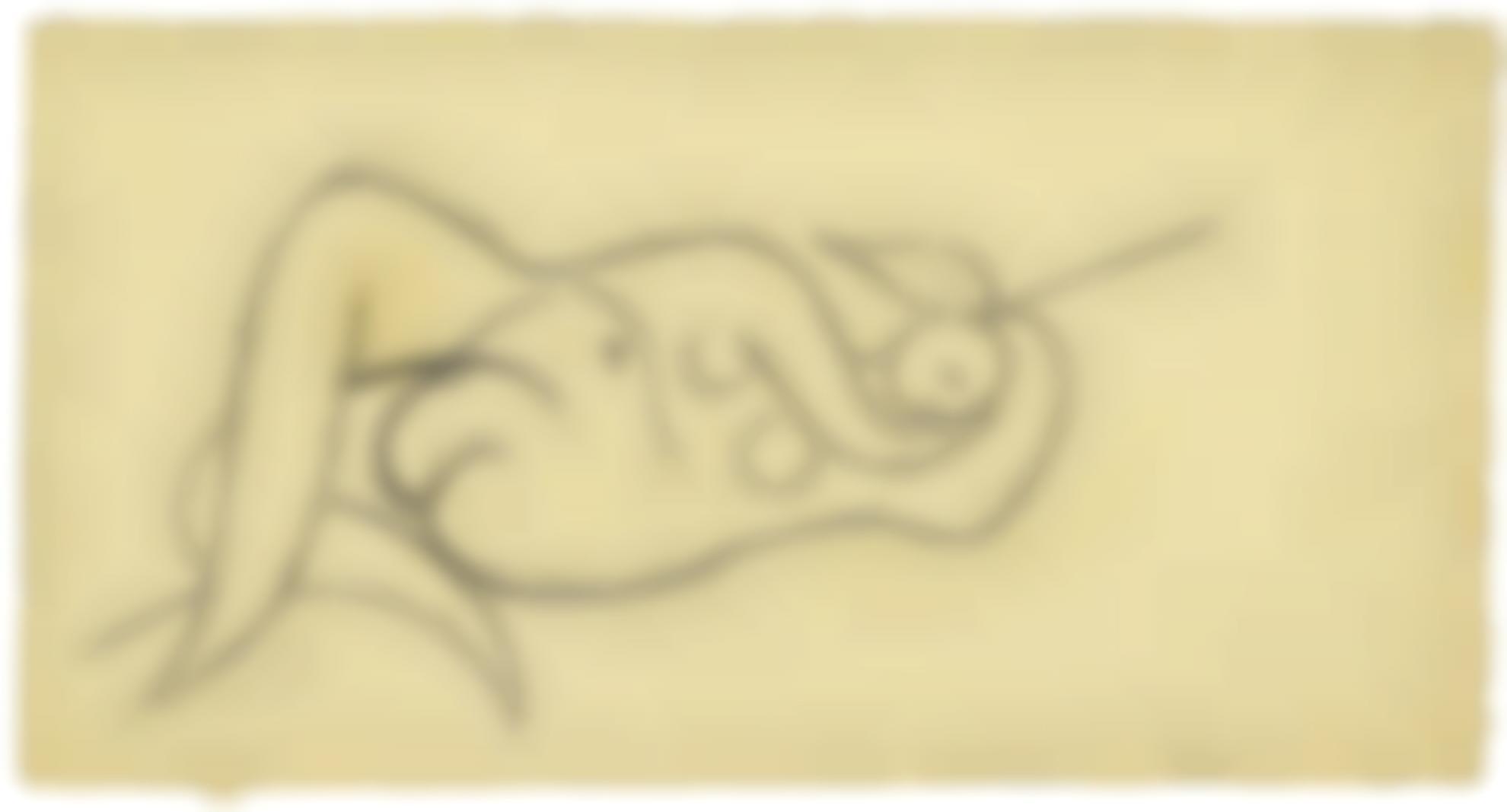Pablo Picasso-Femme Nue Couchee-1932