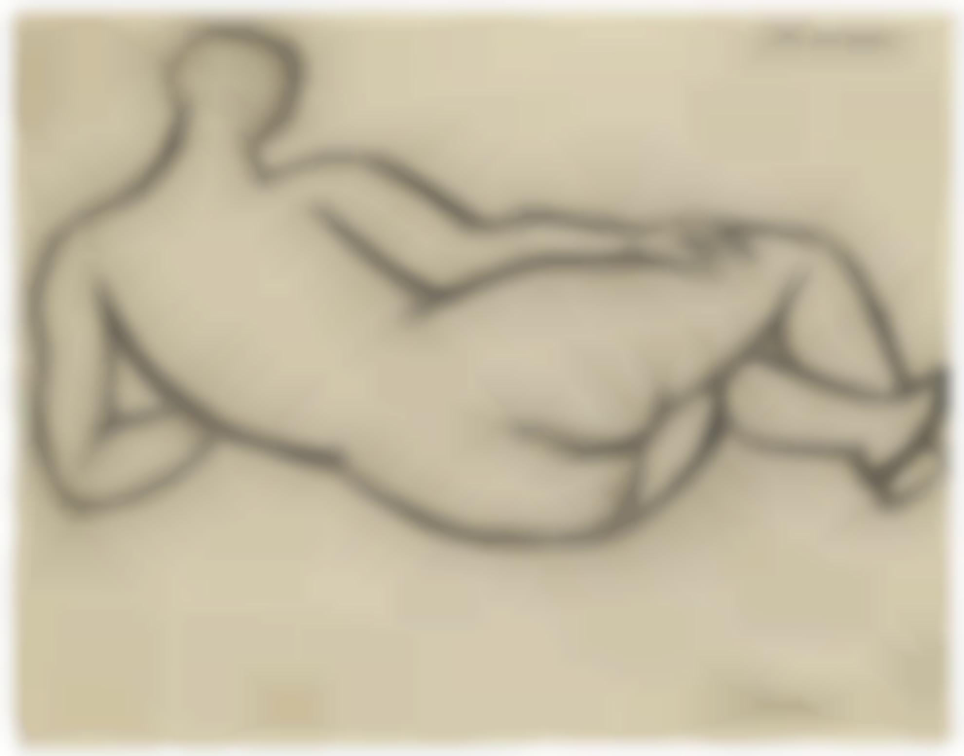 Pablo Picasso-Nu Couche, De Dos-1920