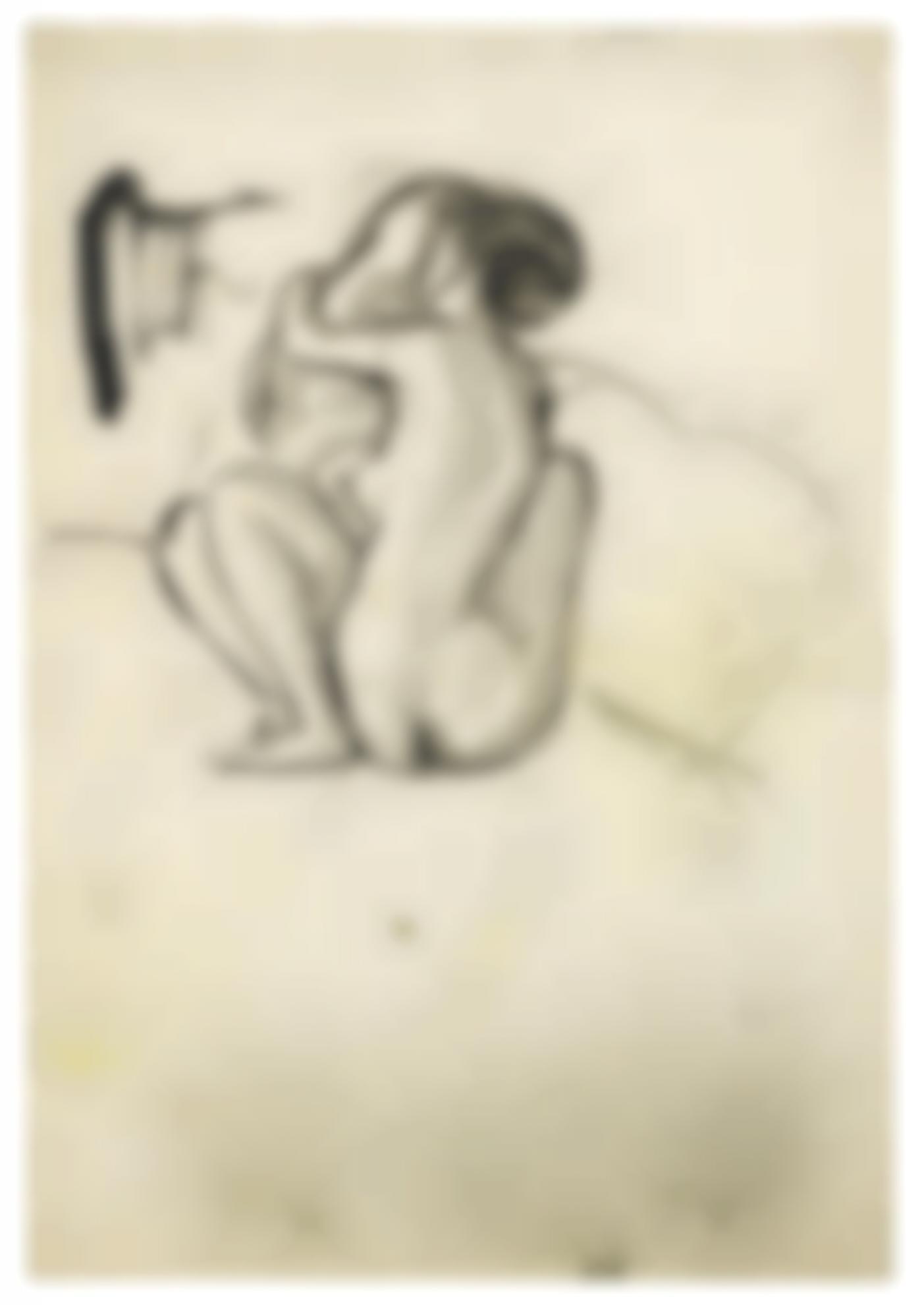 Pablo Picasso-Couple Nu-1901