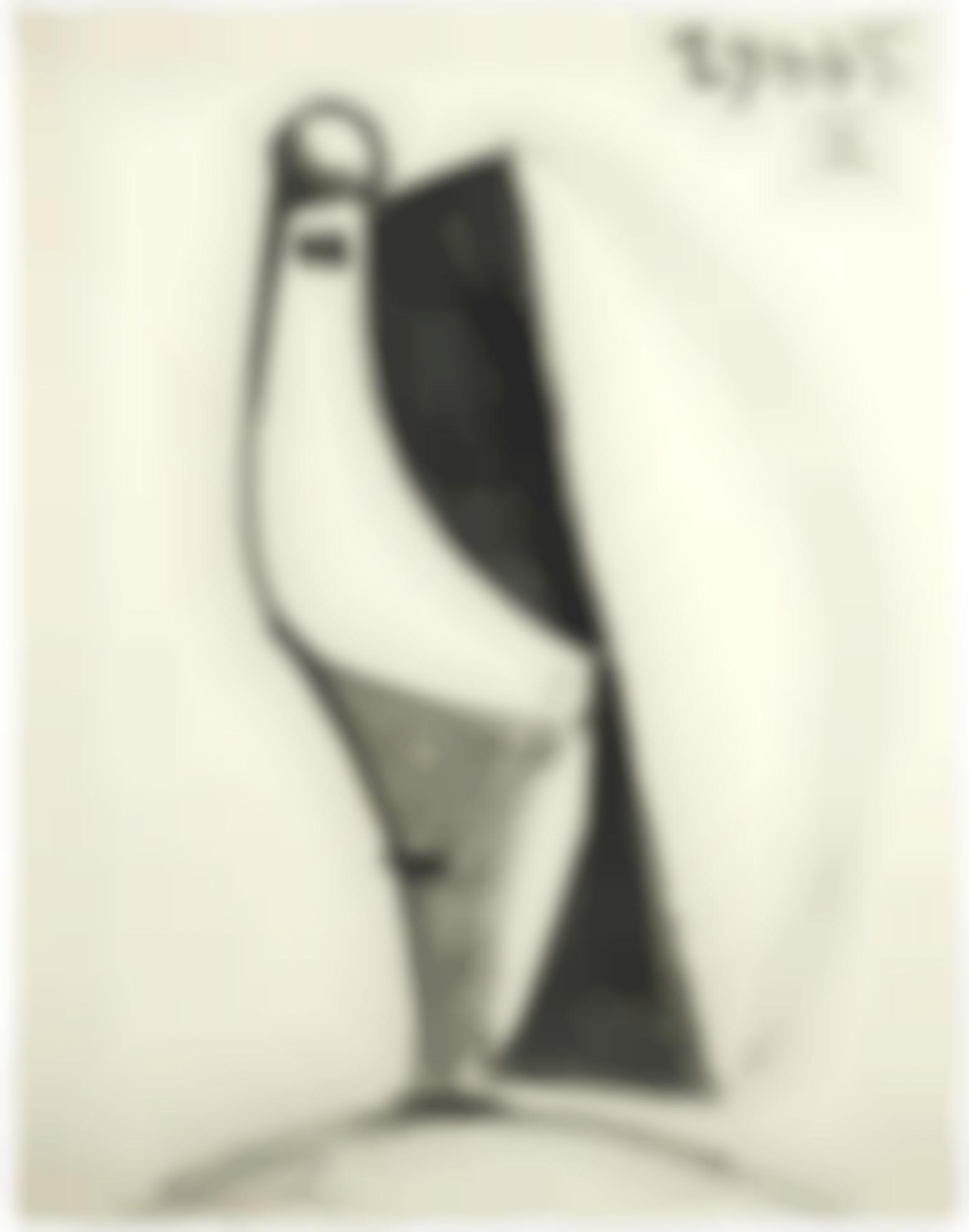 Pablo Picasso-Portrait-1945
