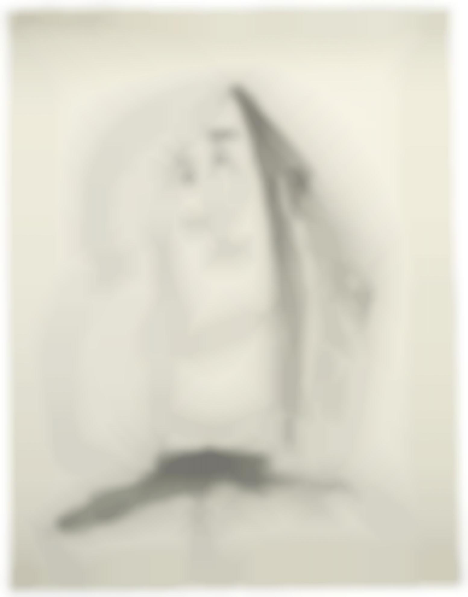 Pablo Picasso-Tete-1943