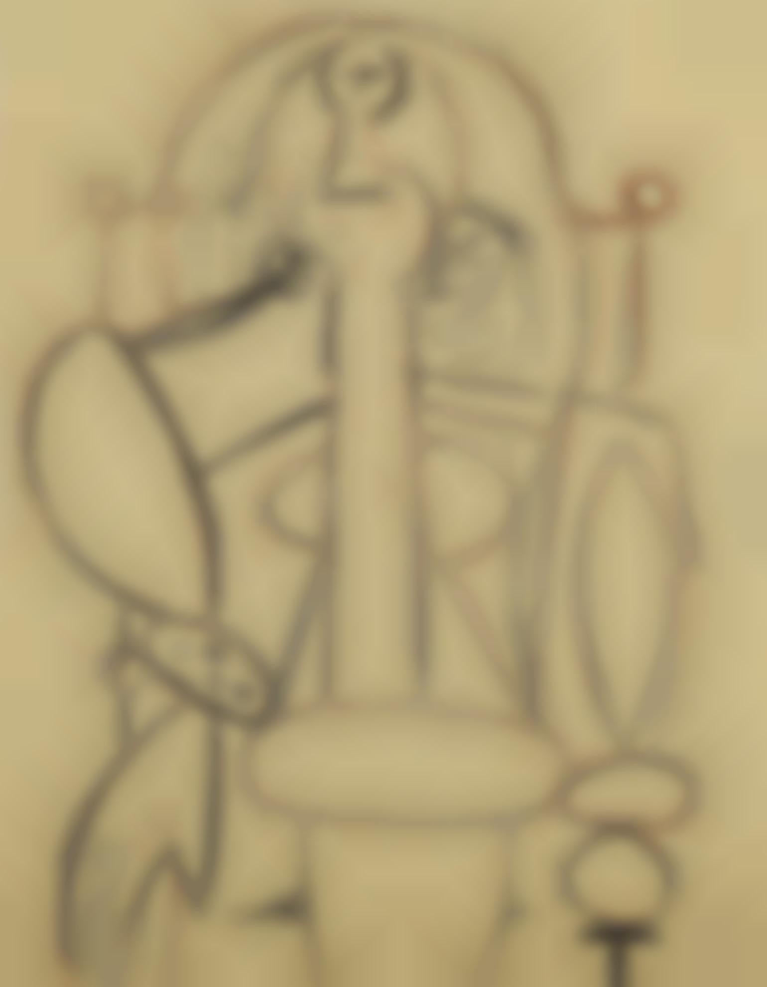 Pablo Picasso-Femme Au Fauteuil-1947