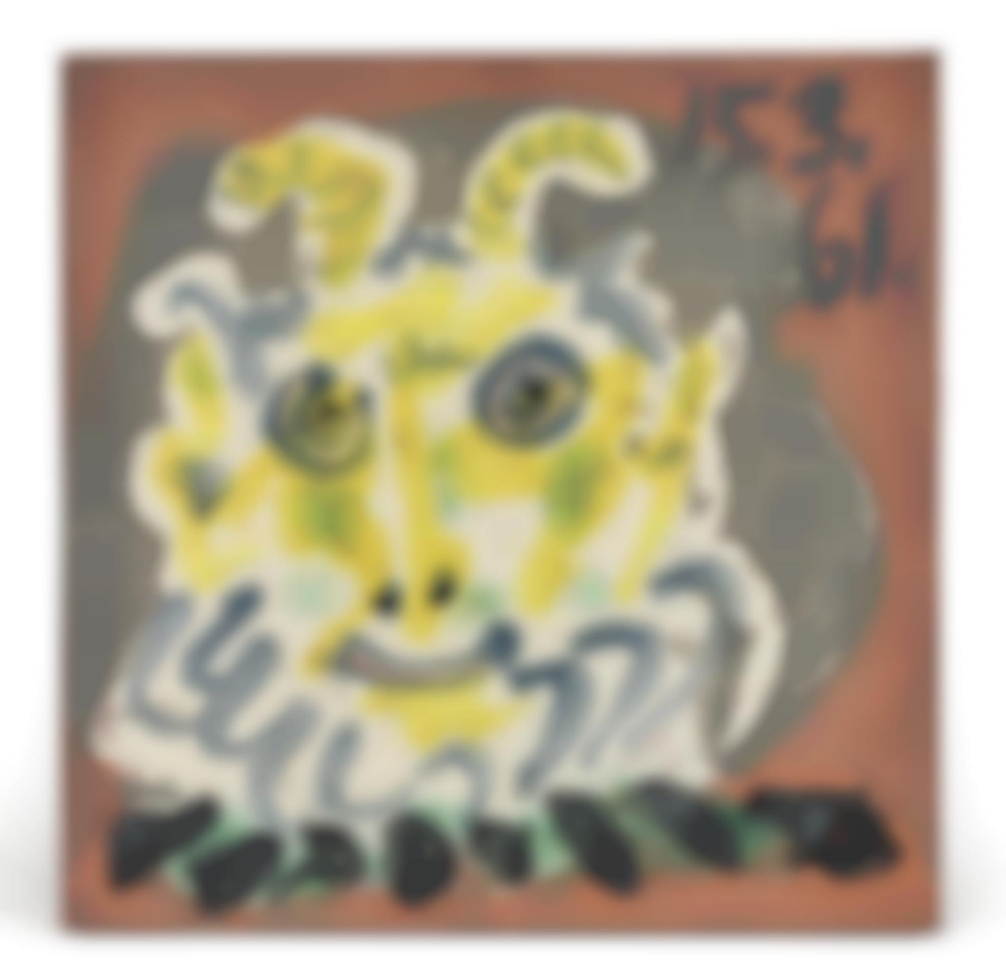 Pablo Picasso-Faune-1961