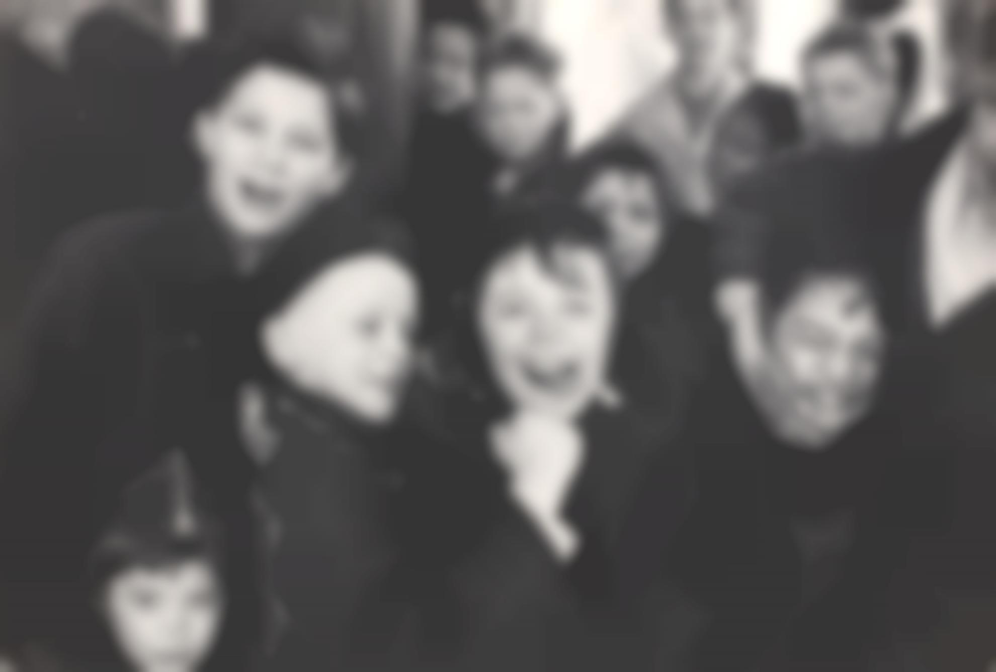 Henri Cartier-Bresson-Delancey Street Kids, New York-1947