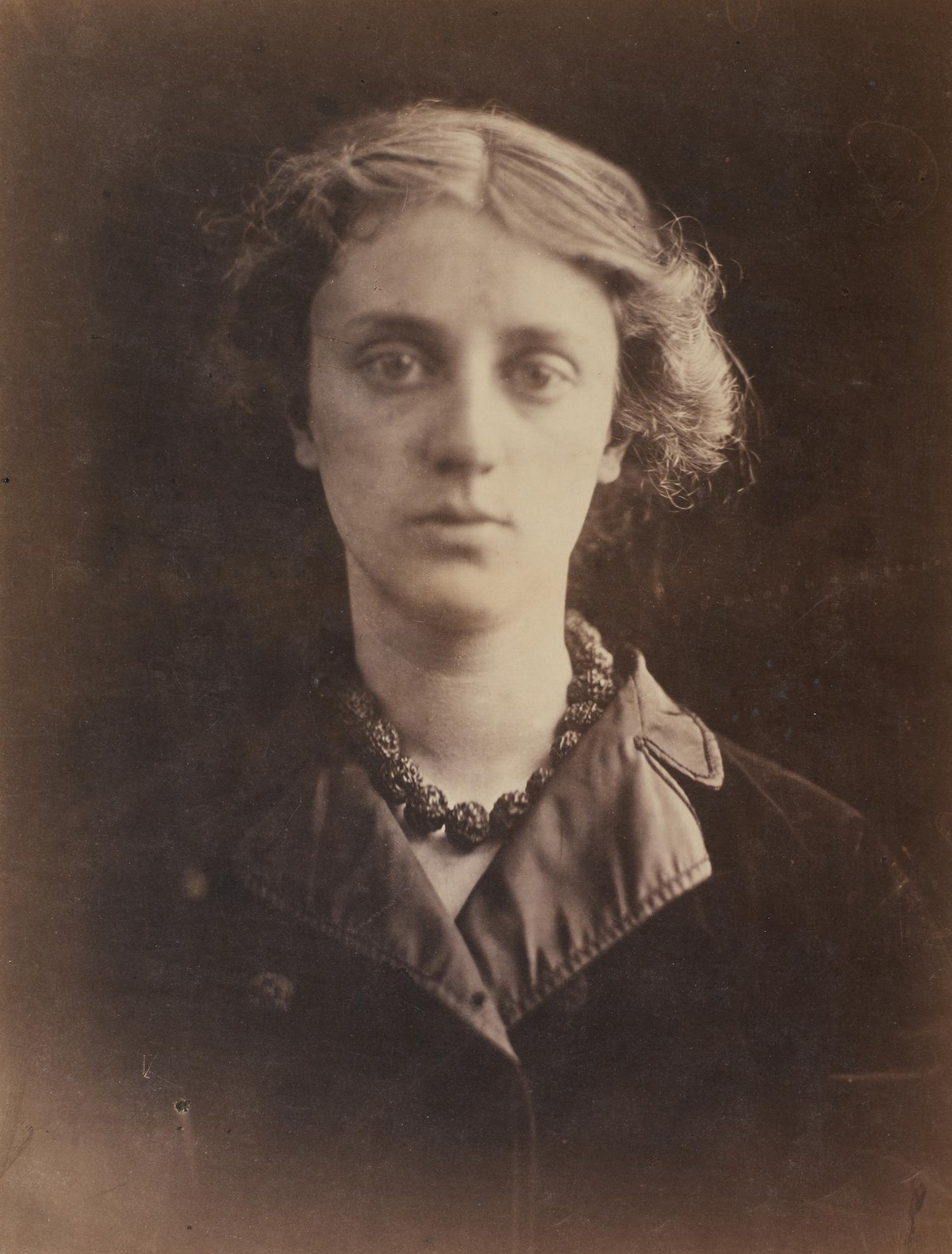 Julia Margaret Cameron-Miss Huth, From Life Freshwater-1868