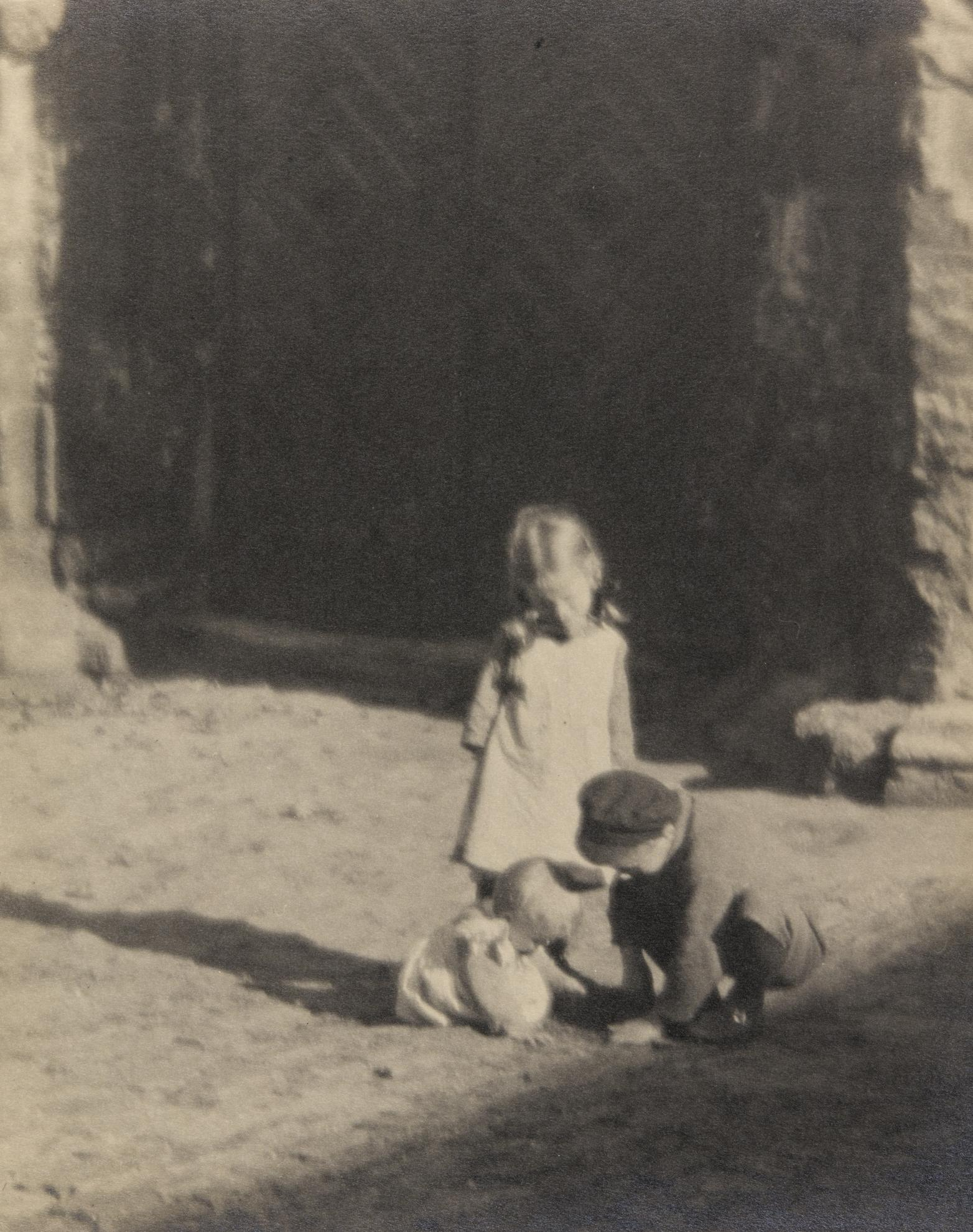 Jaromir Funke-Untitled (Children Playing)-1924