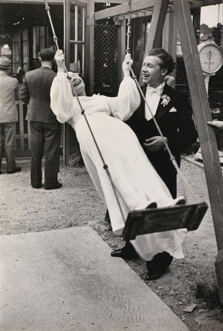 Henri Cartier-Bresson-Joinville-Le-Pont, Near Paris, Val De Marne (Chez Gegene)-1938