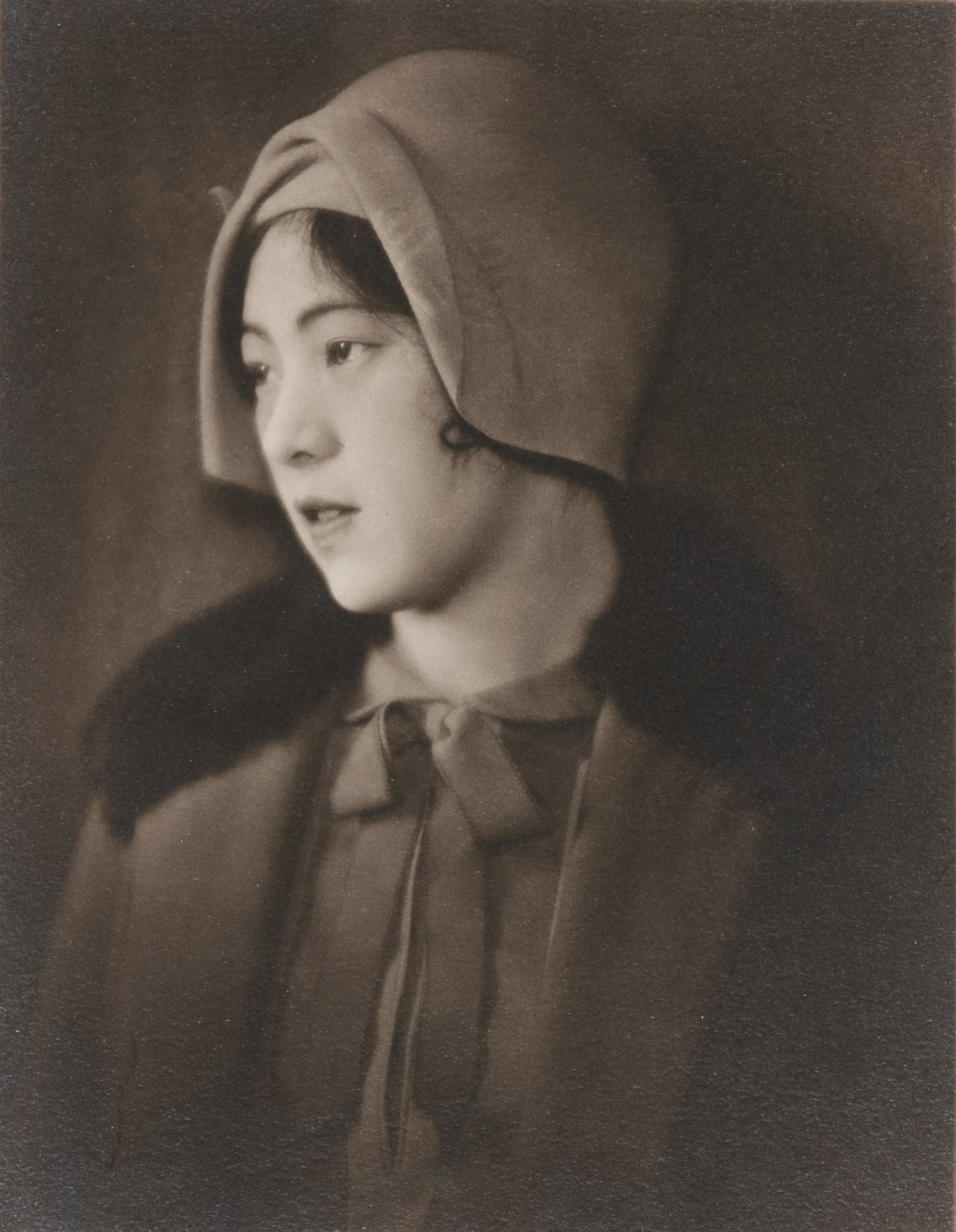 Ogawa Gesshu - Woman In Western Hat-1935