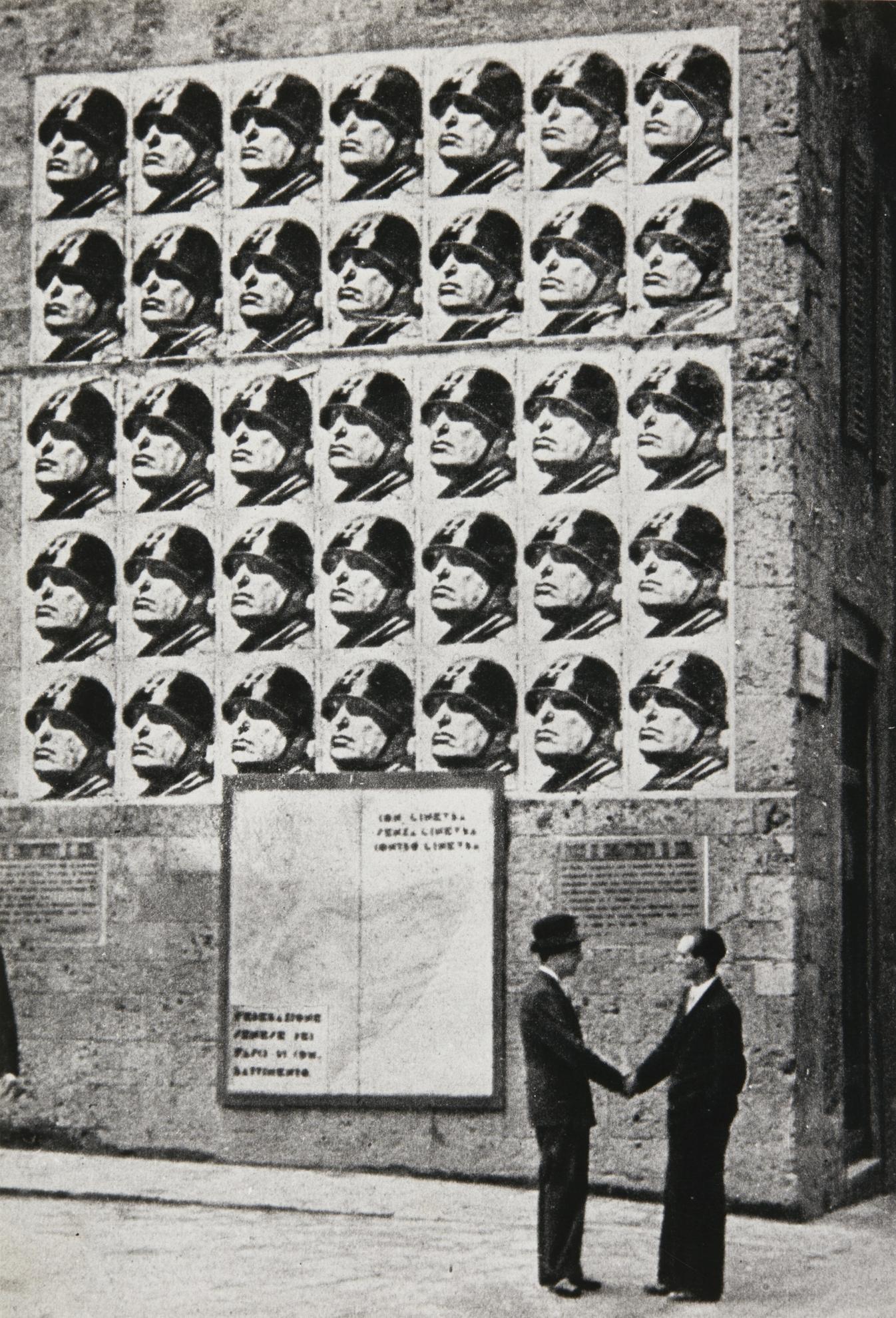 Tim N. Gidal - Mussolini, Florence-1934