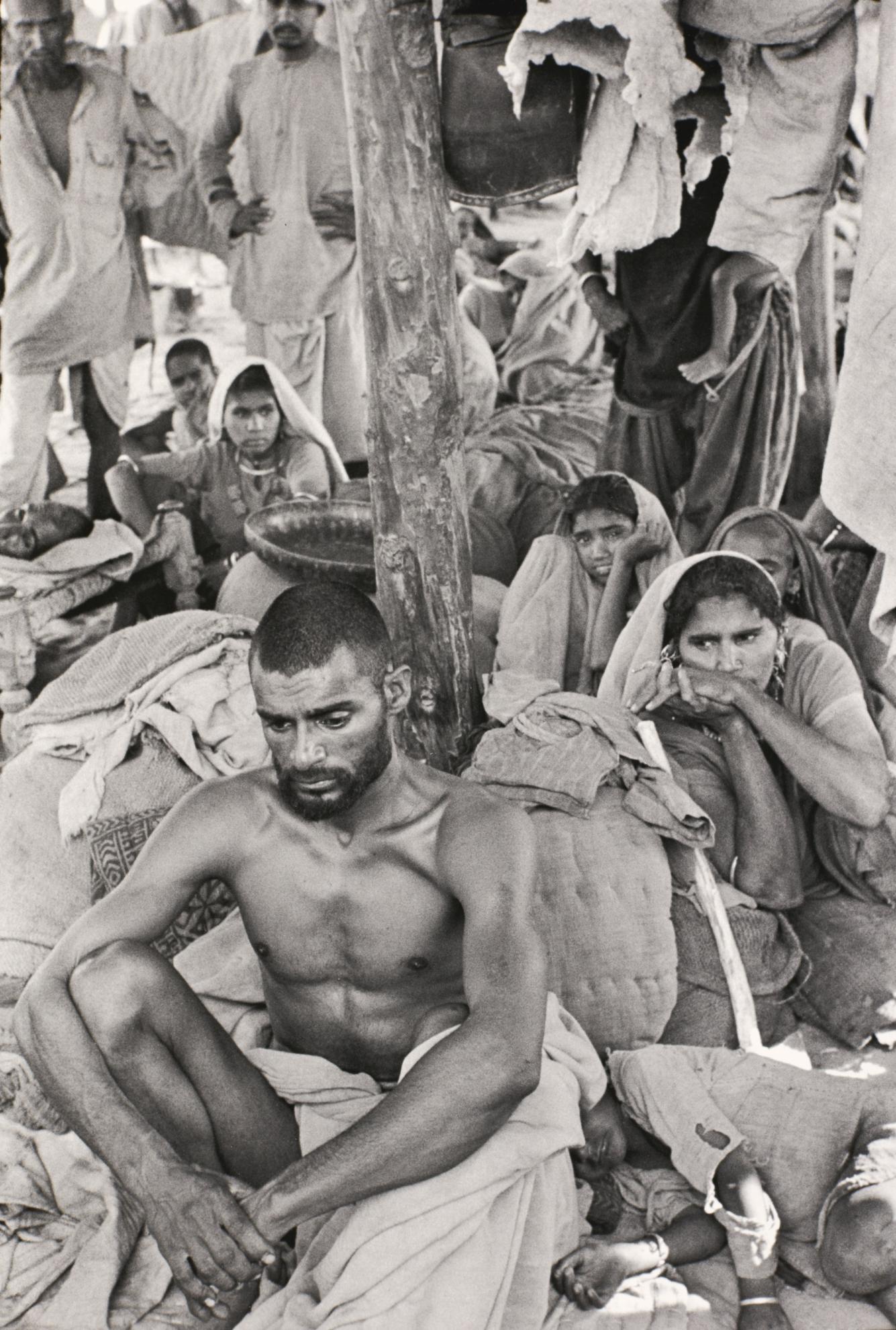 Henri Cartier-Bresson-Lahore, Pakistan-1948