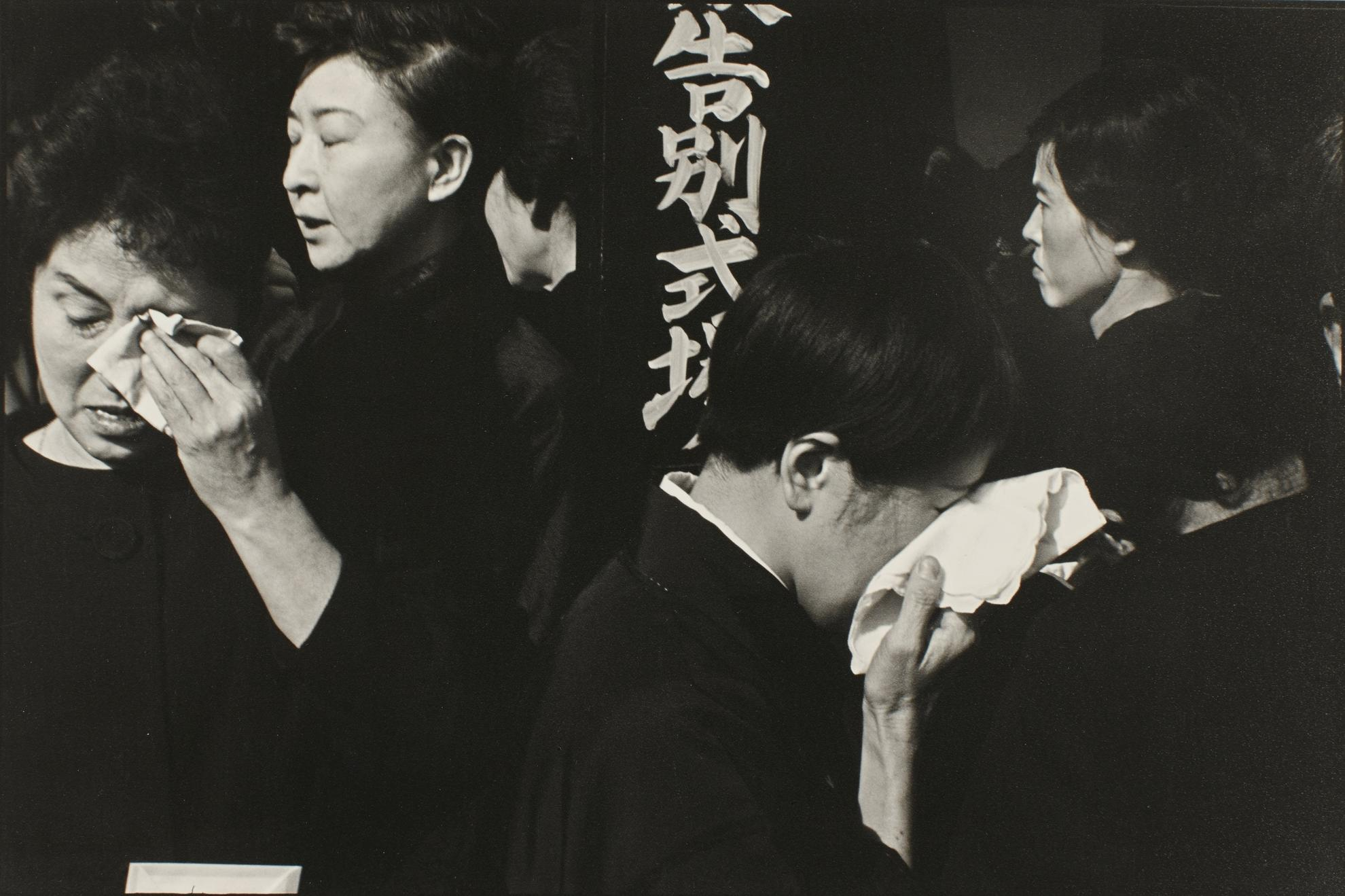 Henri Cartier-Bresson-A Farewell Service For The Late Actor Danjuro At The Aoyama Funeral Hall-1965