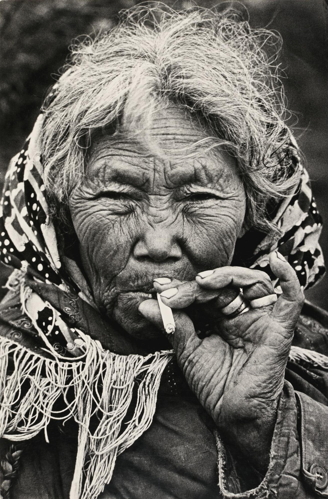 Dmitri Baltermants - Mother Of Fishermen Of Khantimansijsk-1972