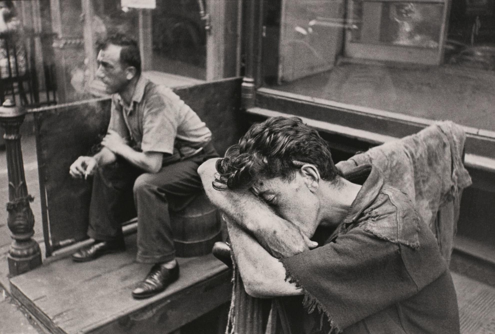 Henri Cartier-Bresson-Manhattan, New York-1939