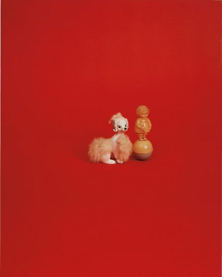 Liliana Porter-Red With Them-2005