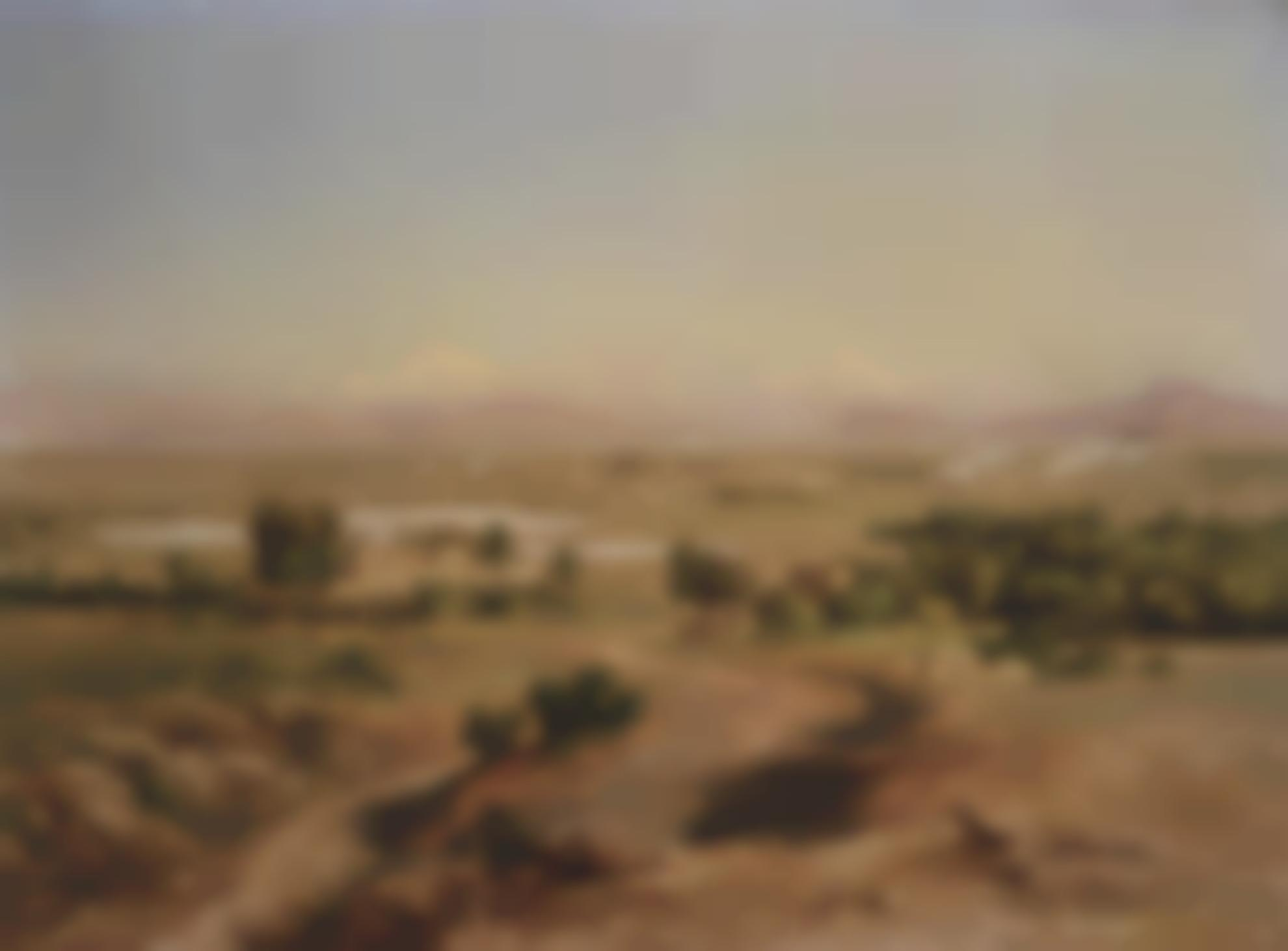 Jose Maria Velasco-Valle De Mexico Desde El Tepeyac-1890