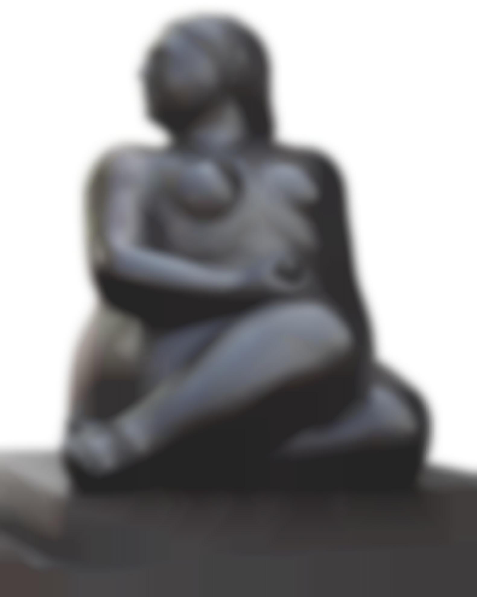 Fernando Botero-Donna Seduta-2001