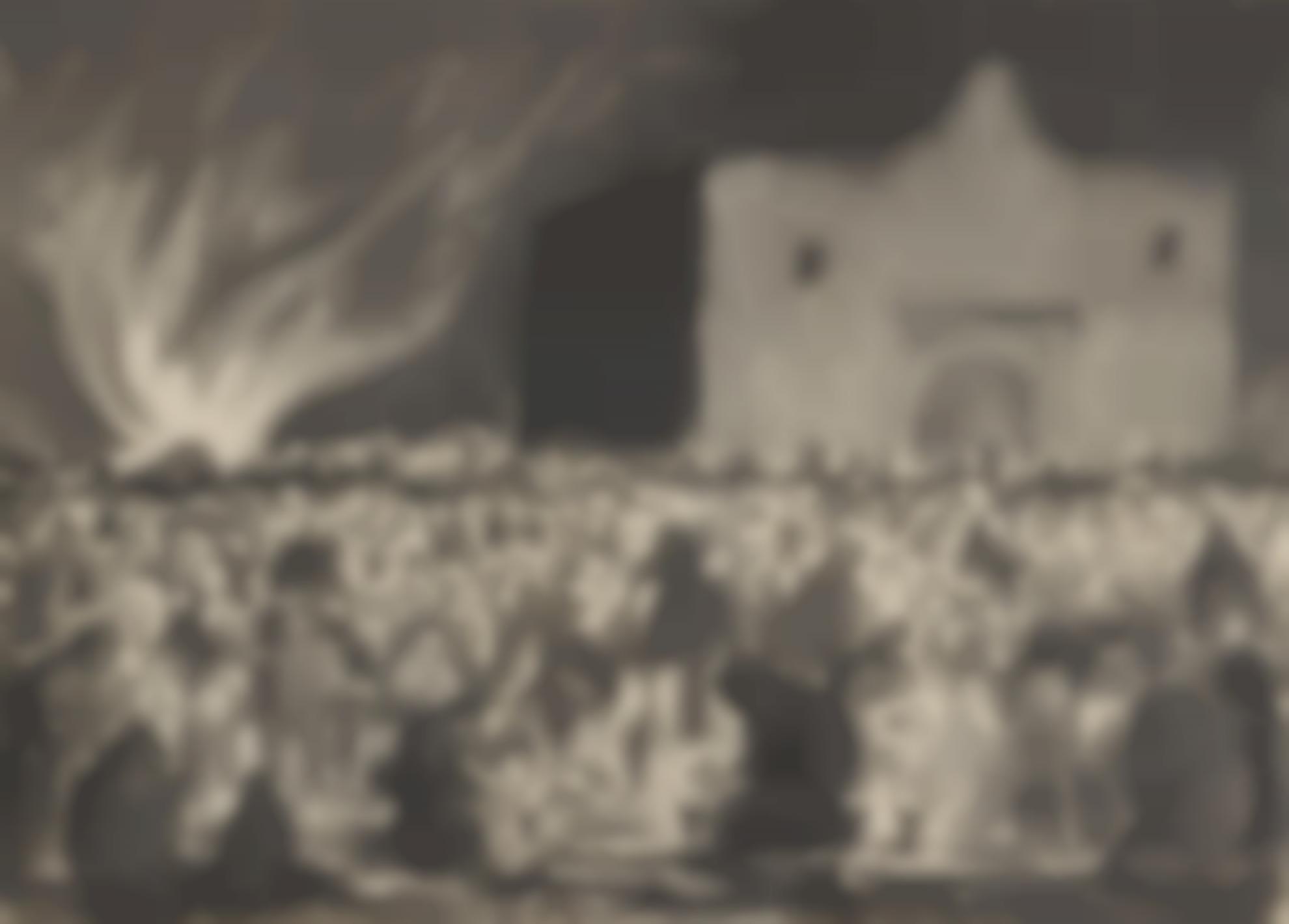Diego Rivera-Untitled (La Alumbrada, Iglesia De San Andres, Mixquic)-1938