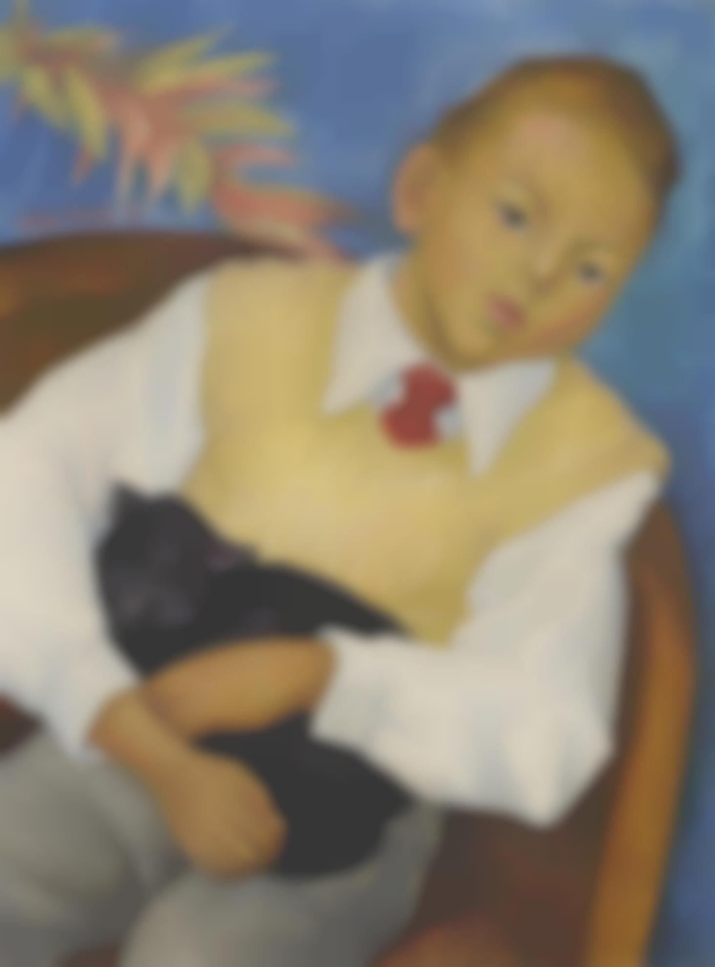 Diego Rivera-Portrait Of Jonathan Kandell-1955
