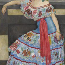 Diego Rivera-Retrato De La Actriz Matilde Palou-1951