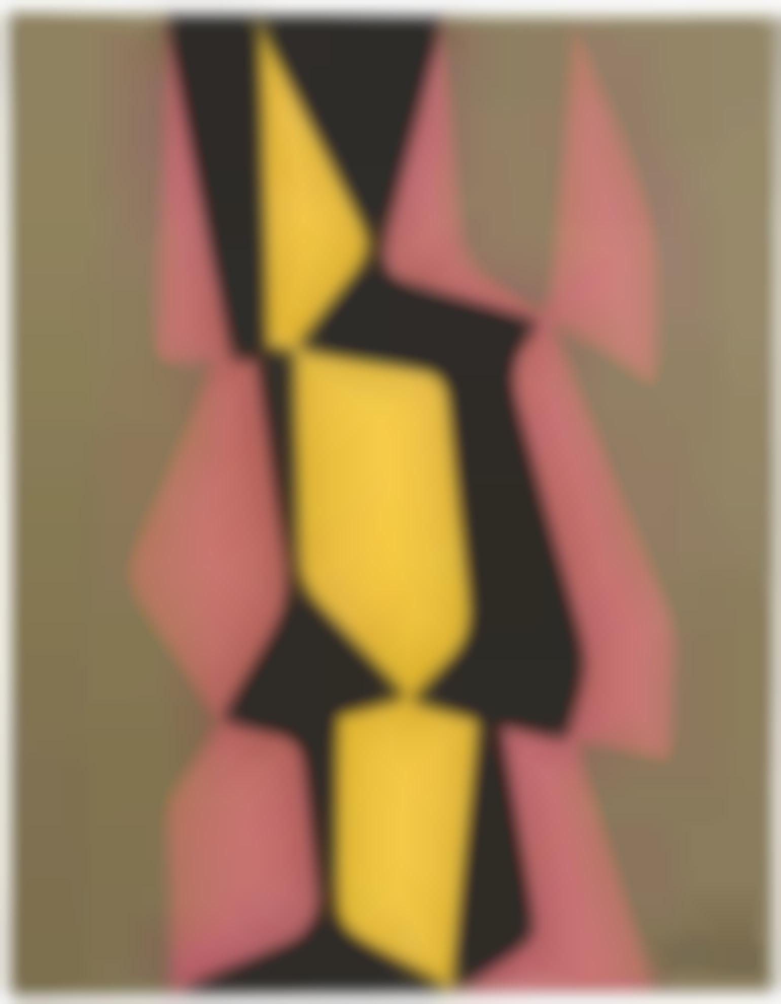 Pedro De Oraa-Untitled (Formas En Apoyo)-1957
