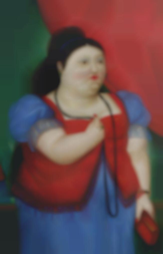 Fernando Botero-Teresita-1982