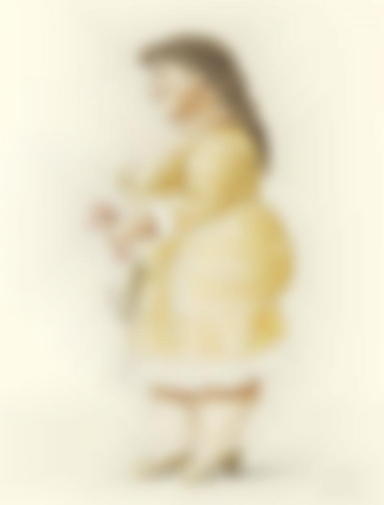 Fernando Botero-Standing Woman-2002