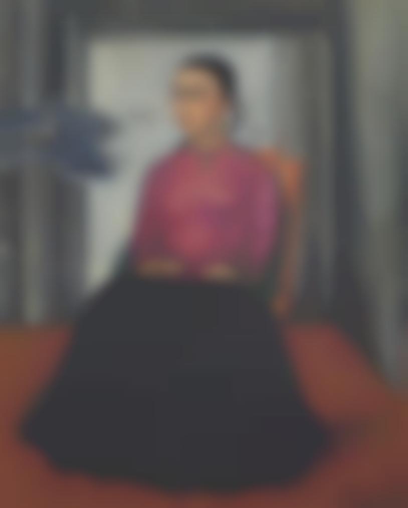 Roberto Montenegro-Portrait Of Frida Kahlo-1938