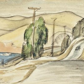 Diego Rivera-San Francisco Bay Landscape-1931