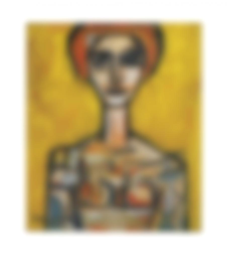 Rene Portocarrero-Mujer-1960