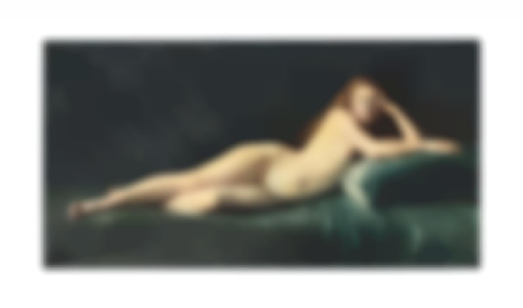 Severo Rodriguez Etchart-Femme Nue, Luli-1896
