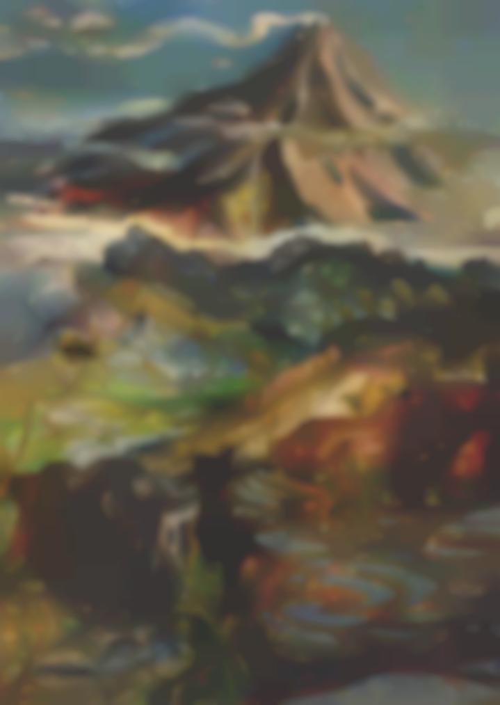 Hendra Gunawan-Mountain Landscape-1955