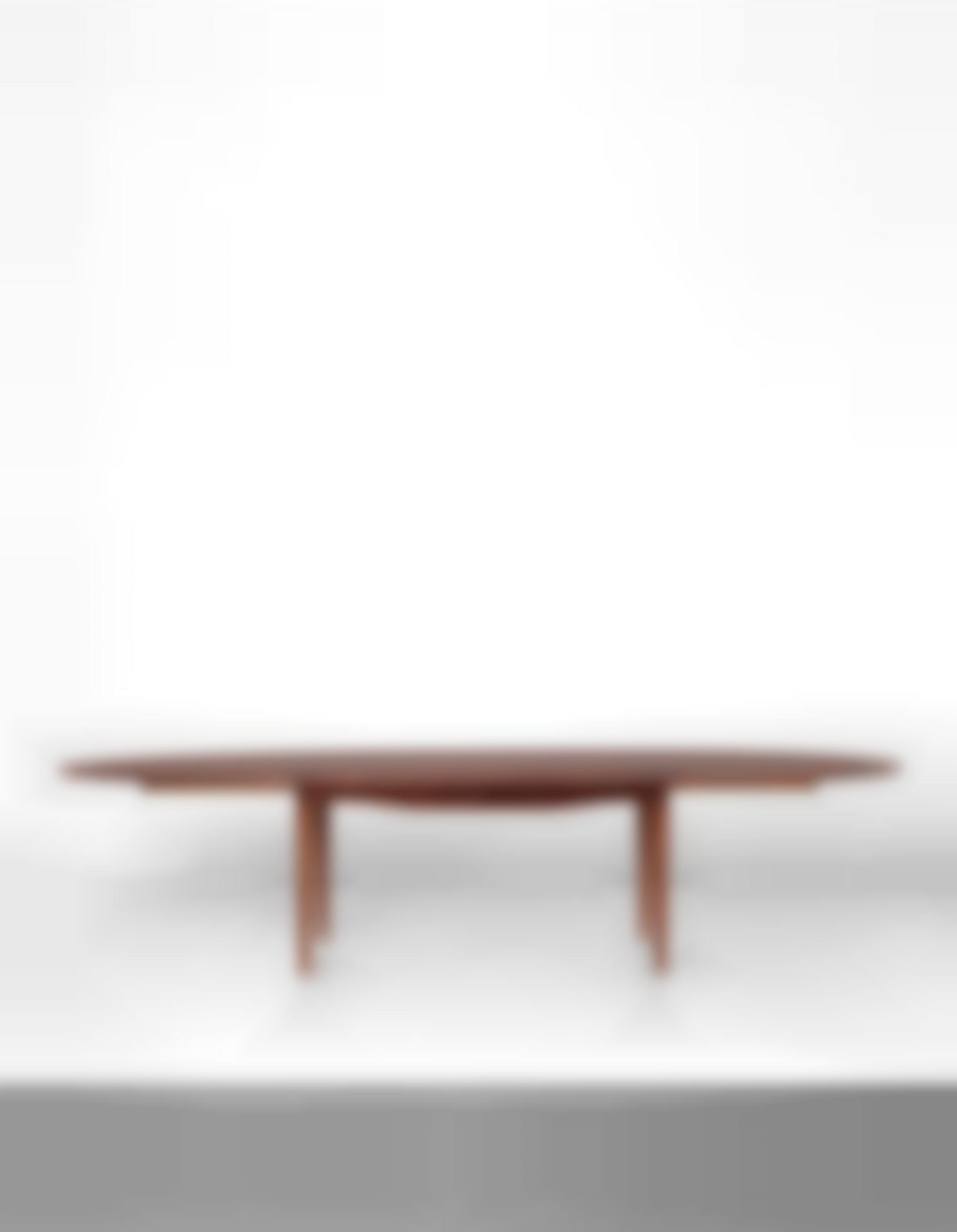 Finn Juhl-Rare And Large Extendable Dining Table, Model No. Fj 49 T-1949