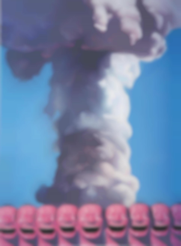 Yue Minjun-Mushroom Cloud-2002
