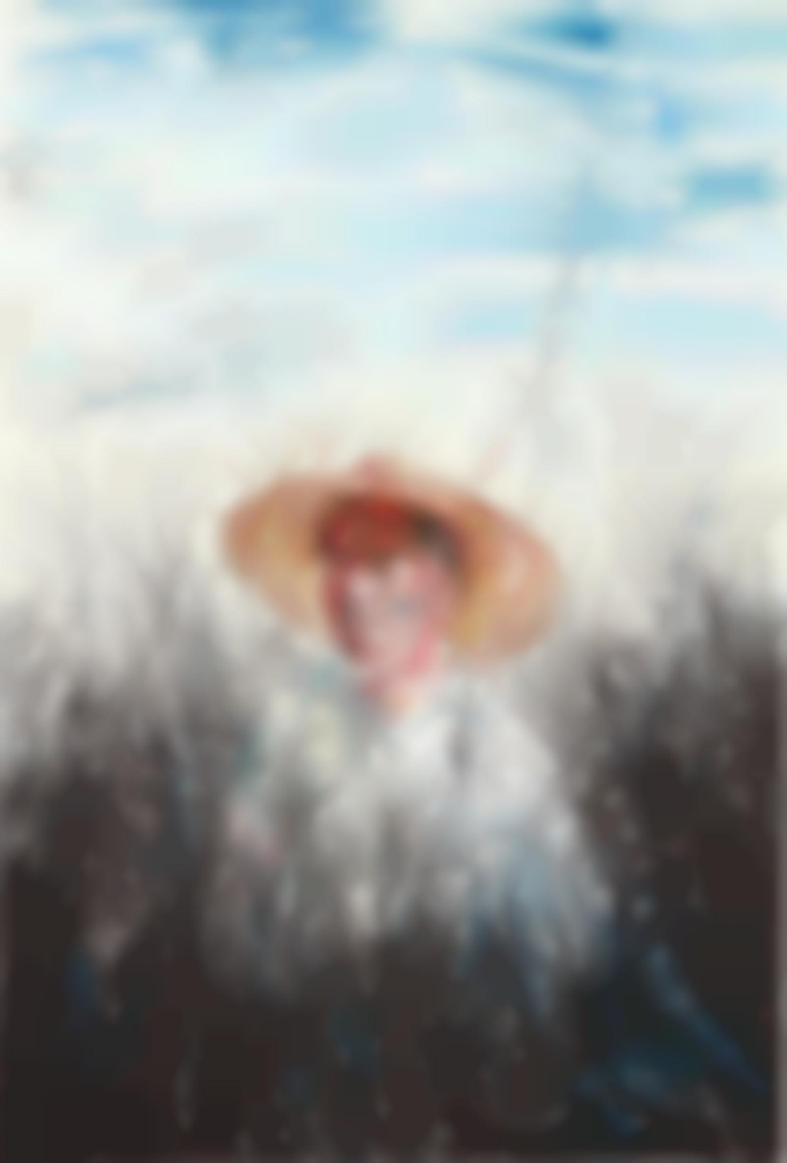 Zeng Fanzhi-A Man With A Straw Hat-2004