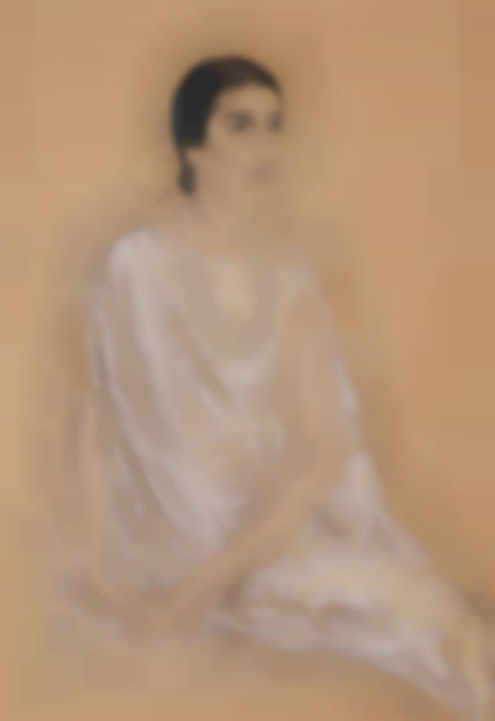 Tsuguharu Foujita-Portrait De Femme-1932