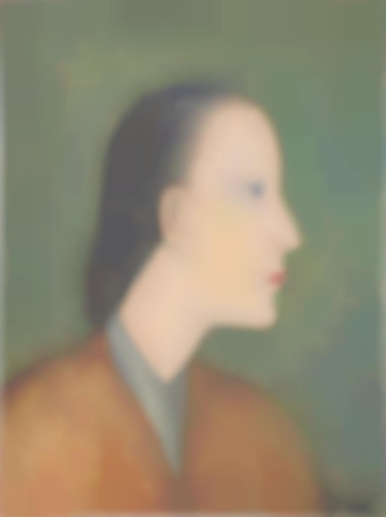 Qiu Yacai-Portrait De Femme-1994