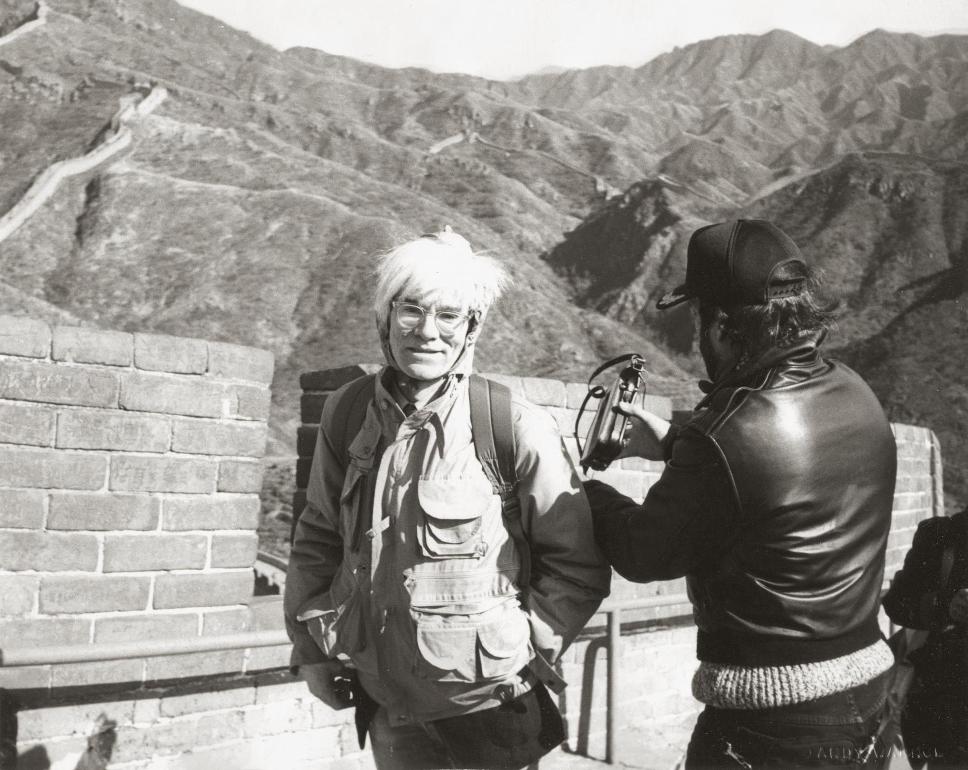 Andy Warhol-Andy Warhol At The Great Wall-1982