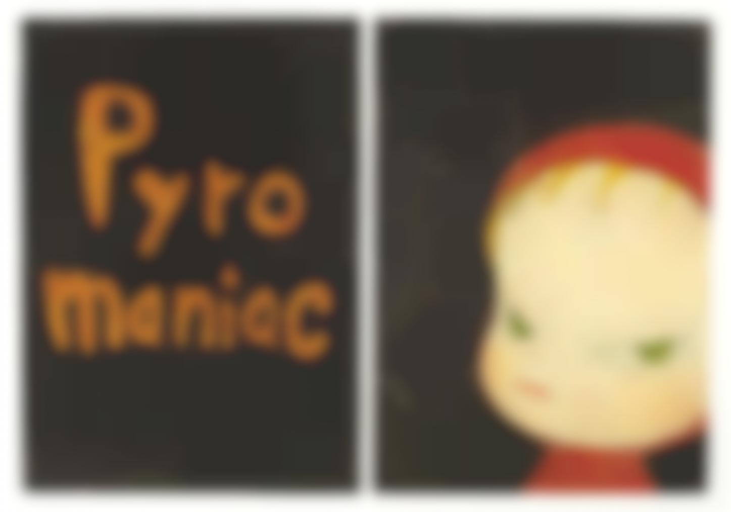 Yoshitomo Nara-Pyromaniac-1999