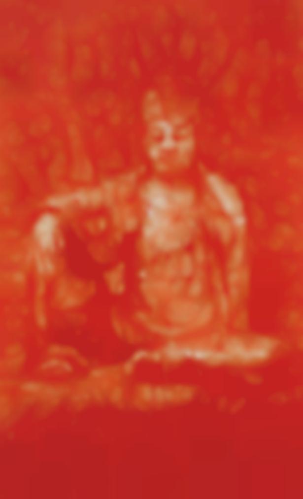 Yan Pei-Ming-Red Buddha-2008