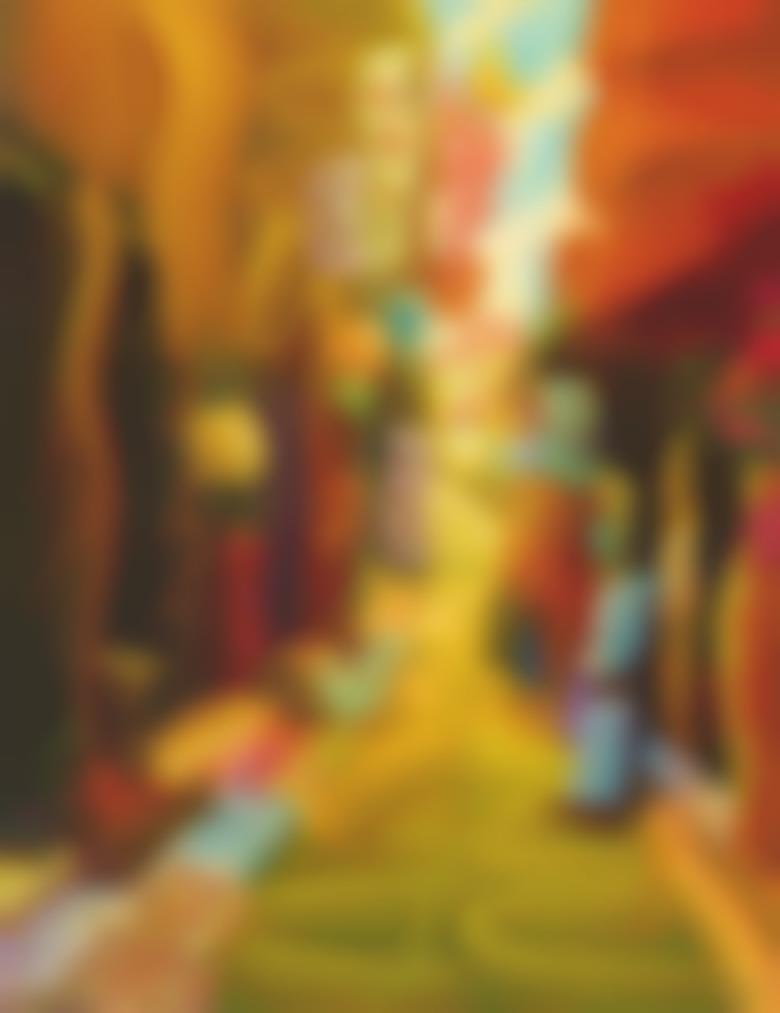Ham Myung Su-Cityscape - An Alley-2010