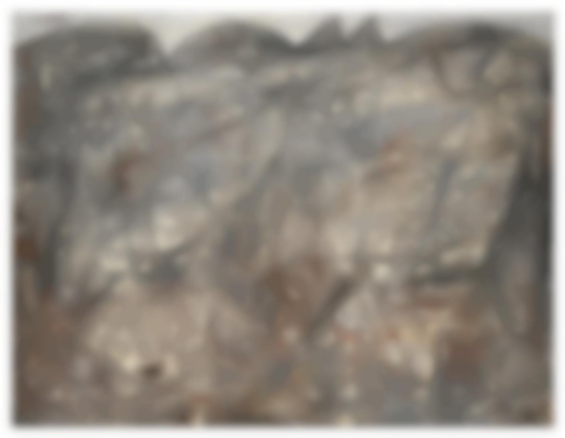 Jean Dubuffet-Paysage Gris Aux Taches Cerises-1949
