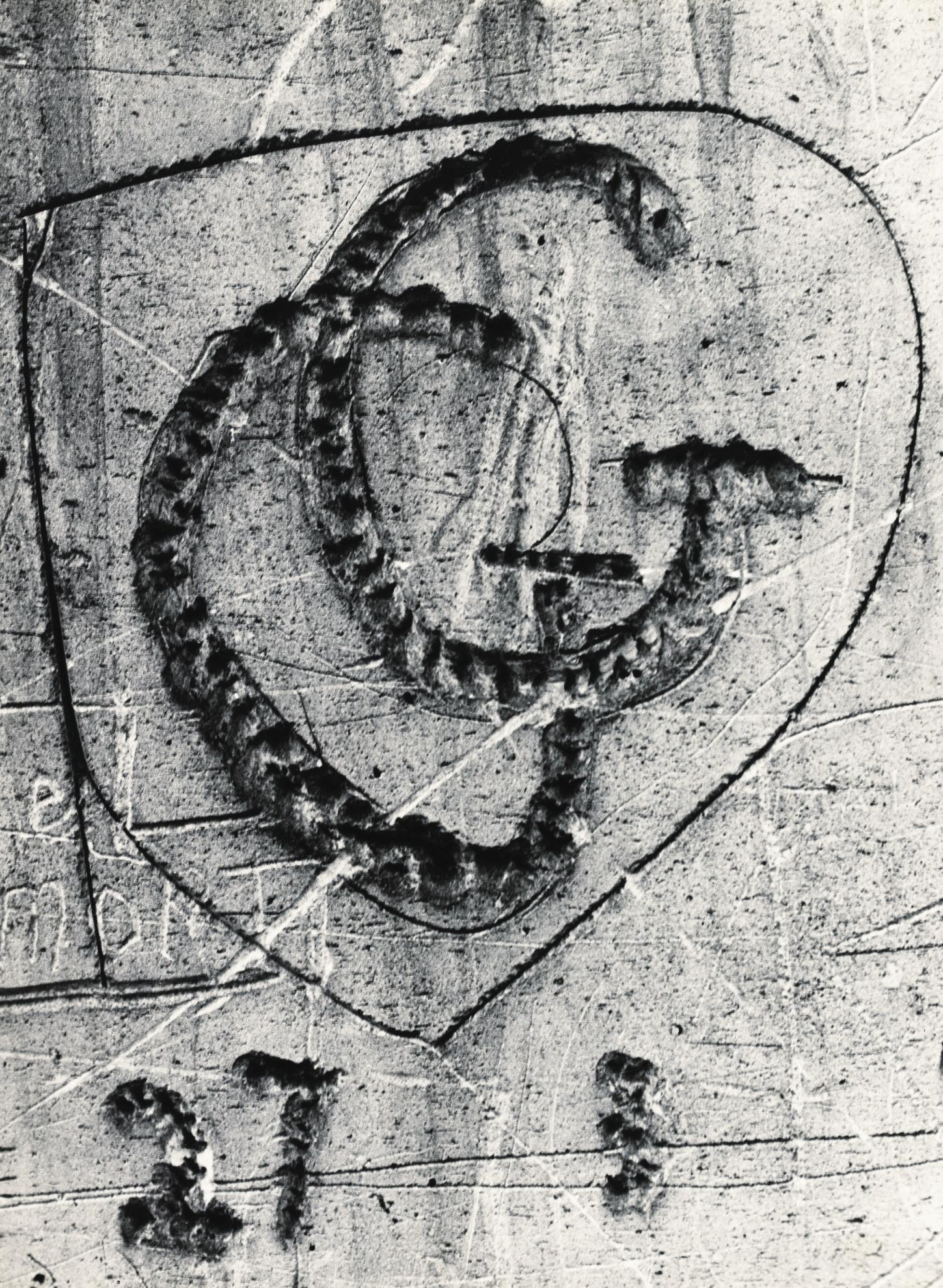 Brassai-Sans Titre, De La Serie Graffiti, 1945-1955-1955
