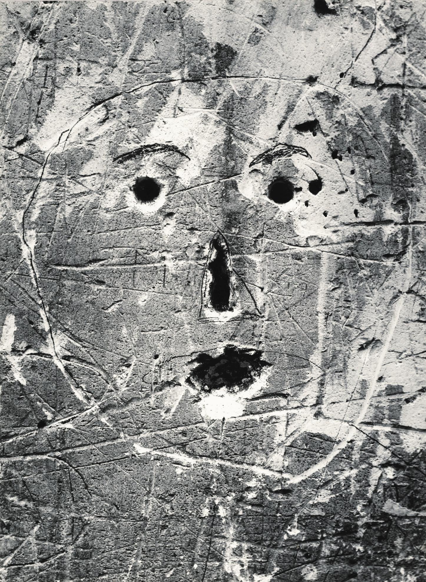 Brassai-Sans Titre, De La Serie Graffiti [Masques Et Visages], 1945-1955-1955