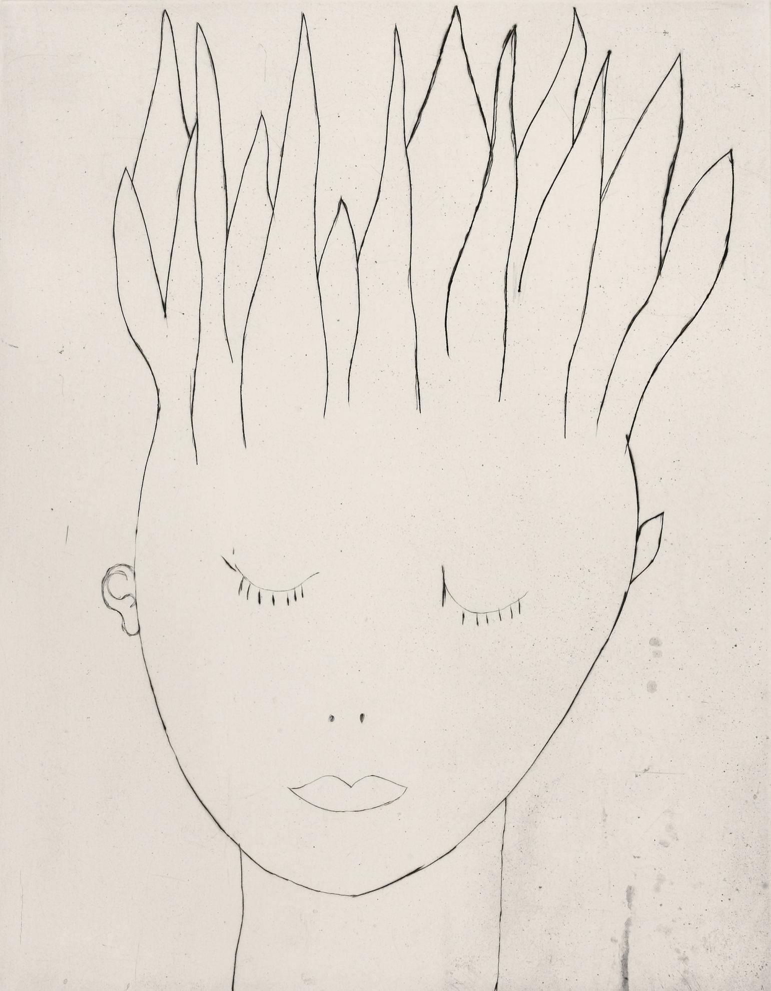 Louise Bourgeois-Head On Fire-2000