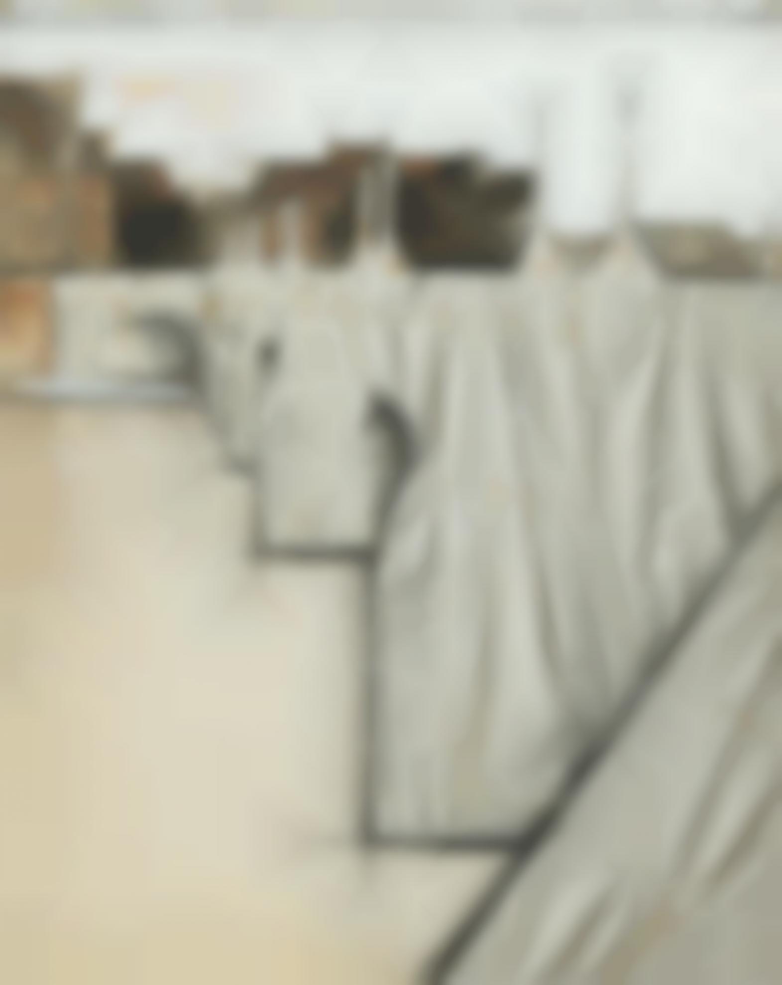 Christo and Jeanne-Claude-The Pont Neuf Wrapped (Project For Paris - Quai Des Grands Augustins, Quai Du Louvre, Quai De La Megisserie Et Quai De Conti)-1976