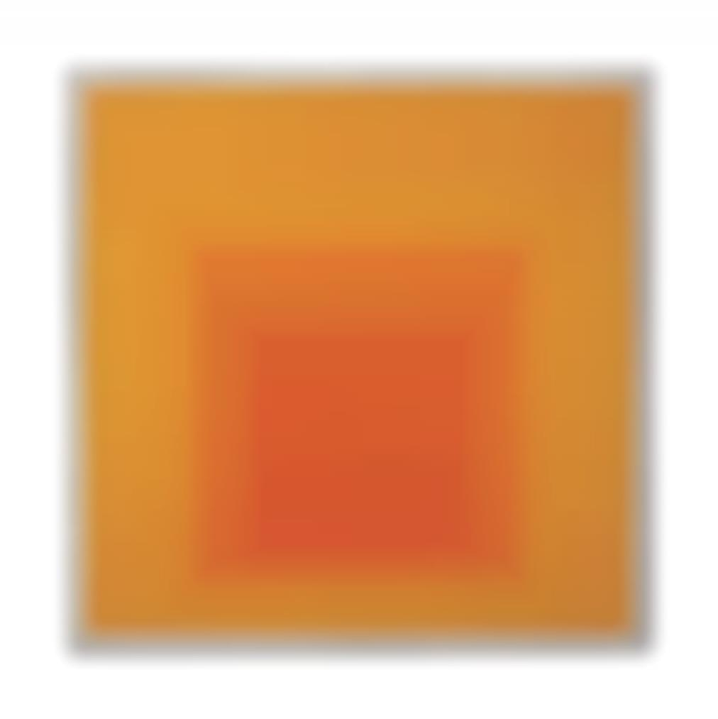 Josef Albers-Study For Homage To The Square: Me Too-1969
