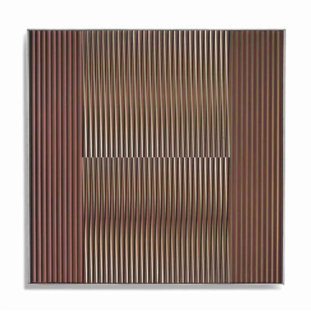 Carlos Cruz-Diez-Physichromie No. 1196-1984