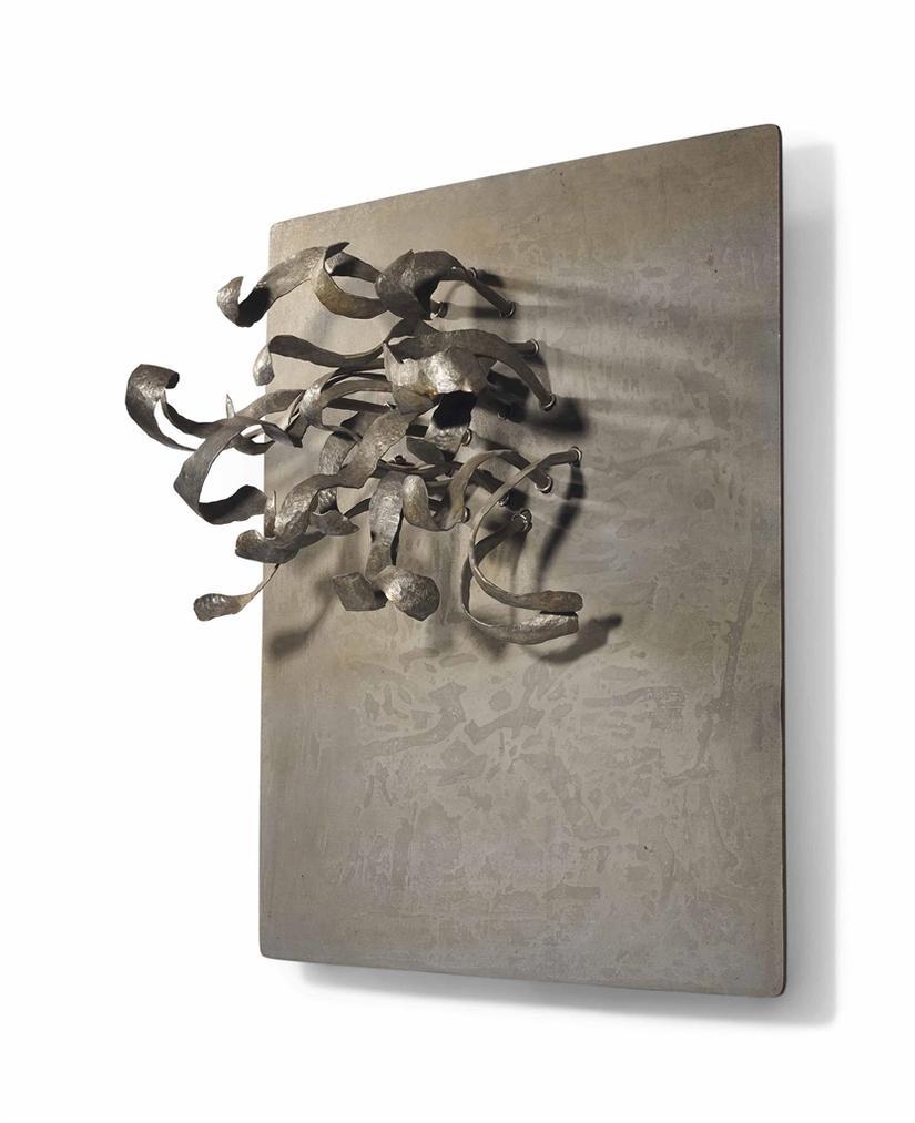 Pol Bury-[22 Tiges Martelees En Aluminium]-1963