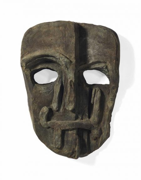Thomas Houseago-Untitled Mask (Viper Mask)-2008